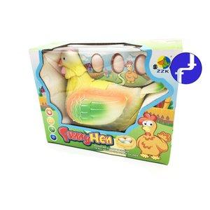 Mainan Anak Lucu Ayam Bertelur Kuning Funny Hen Baterai 939A
