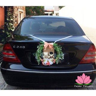 Hiasan Mobil Pengantin - Teddy Bear