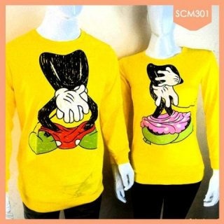 Sweater Couple Mickey-Minnie Mouse