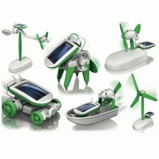 Robot Solar Kit 6 in 1