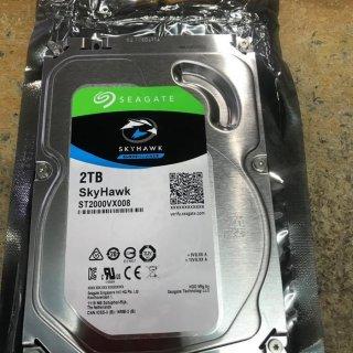 Seagate SkyHawk Harddisk Surveillance 2TB SATA