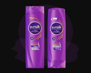 Sunsilk Lively Straight Shampoo 340ml