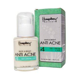 Humphrey Skin Care White & Bright Anti Acne Day Cream