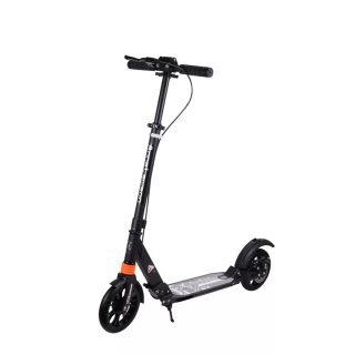 Urban Scooter Black Urban Scooter with Disc Brake