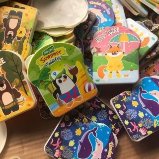 Souvenir Ulang Tahun Tempat Makan Anak Karakter Grosiran