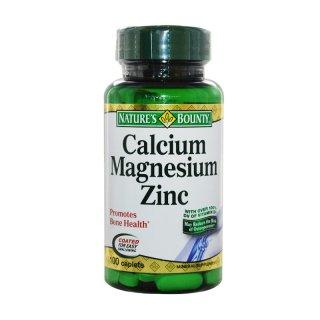 Nature's Bounty Calcium Magnesium Zinc