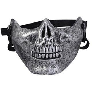 Topeng Tengkorak Half Mask