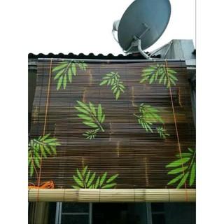Tirai Bambu Motif
