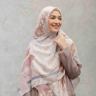 Seradia Seradia Hijab Segi Empat Syari Tencel - Aksamala - Cashmere Rose