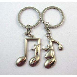 Gantungan Kunci Unik / Gantungan Kunci Couple Melody Tema Musikal