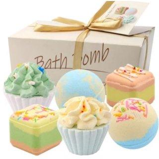 Bath Bomb Gift Set Green 6 x 70G