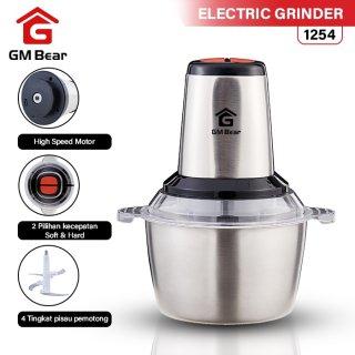 GM Bear Blender Elektrik 1254- Cappa Chopper Electric Grinder