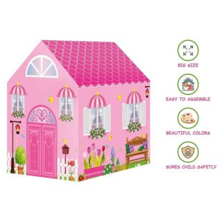 Play Tent Indoor Outdoor Princess Home 995-7070B - Tenda Rumah Anak