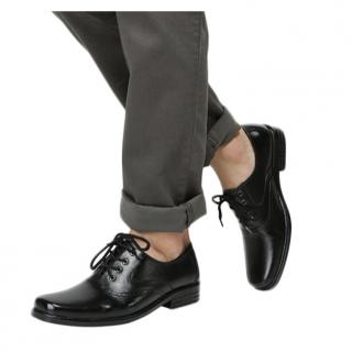 Rasheda Sepatu Pantofel Pria Kulit Asli