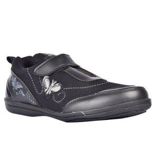 Starz Sepatu Sekolah Anak Perempuan Meisha Hitam