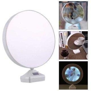 Magic Mirror + Photo Frame + Lampu Tidur