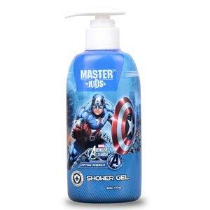 Master Kids Shower Gel Captain America