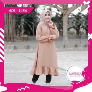 Lavina - ADL Tunik - 1486 Fashion Muslim Tunik Muslim Atasan Tunik Tunik Wanita Tunik Atasan Wanita