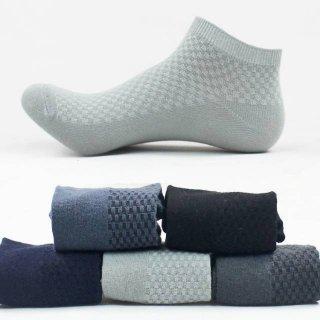 Kaos Kaki Pria Pendek Serat Bambu Ankle Import Premium