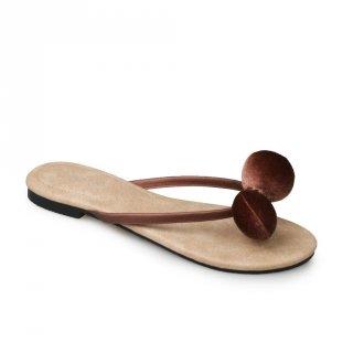 Symbolize Kalila Flat Sandal - Coklat