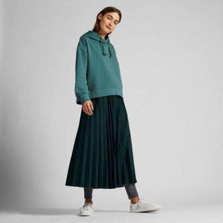 Uniqlo Women Pleated Long Skirt