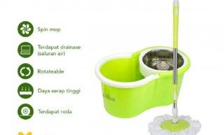 COOGER Spin Mop Pel Microfiber