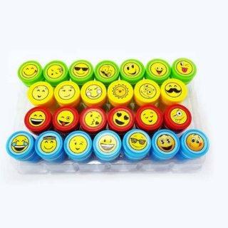 26pcs Souvenir Ulang Tahun Anak Stationery Stampel Lucu Smiley