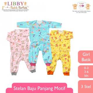 Libby Stelan Baju Panjang - Celana Panjang Motif Batik