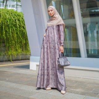 Le Khari Dress Yuki Chanel Silk Gamis