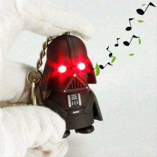 Gantungan Kunci Sound LED Model Darth Vader Stormtrooper Star Wars