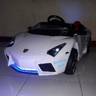 Mainan Mobil Aki Lamborghini Lambrado M6869 PMB
