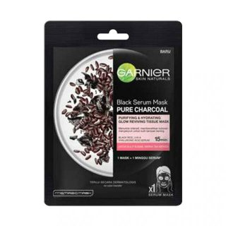 Garnier Black Serum Mask Pure Charcoal Black Rice
