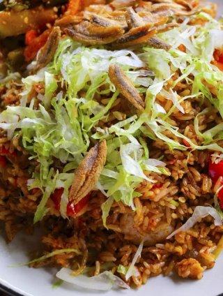 Nasi Goreng Sayur dan Telur
