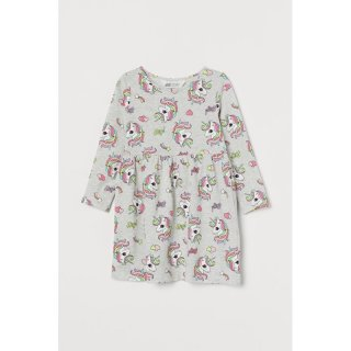 H&M Kids Dress Anak Long Unicorns