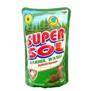 Wings Supersol Karbol Wangi
