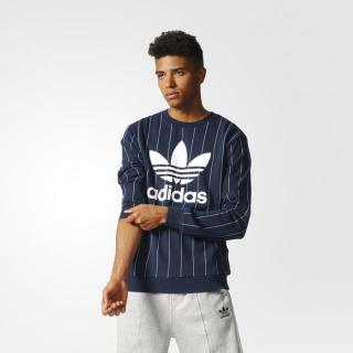 Adidas Tokyo Pinstripes Sweater Crew