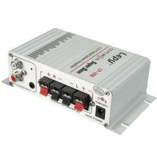 Lepy LP-268 HiFi Mini Stereo Amplifier Treble Bass Booster
