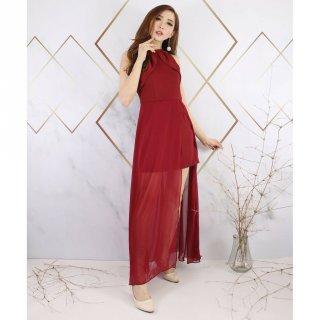 Model Halter Dress