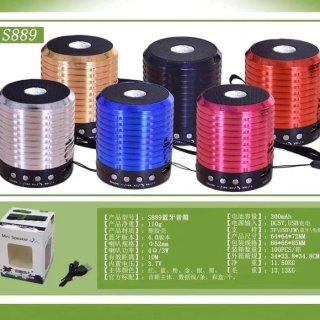 Speaker Bluetooth Mini S889