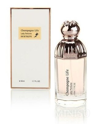 Miniso Parfum Wanita Champagne Life Lady Perfume