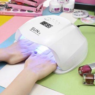 Pengering Kutek Kuku Gel Sun x 54W Nail Art Manicure Lampu LED Smart UV YZ46