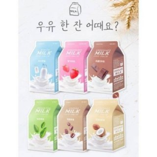A'pieu Milk One Pack Mask Sheet