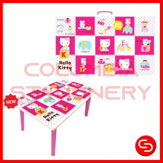 Meja Belajar Lipat Skyco Learning Hello Kitty