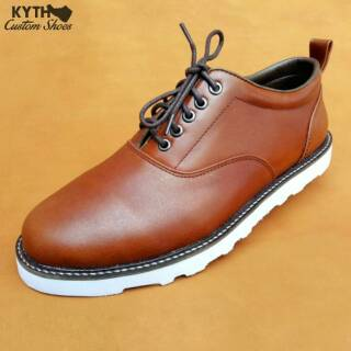 Kythshoes Casual Oxford Tan RW