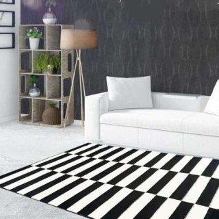 Maroc Carpet BW07 Monokrom Karpet Lantai