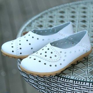 Sepatu Kulit Wanita Loafer Sapi Muda Wanita
