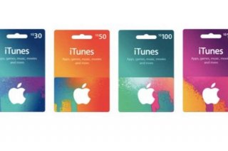 Gift Card iTunes