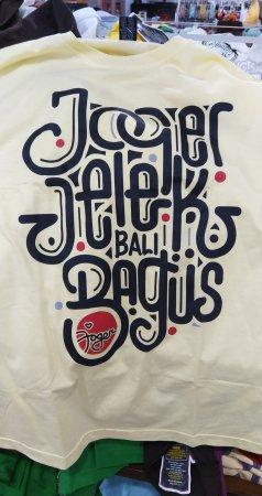 Kaos - Tshirt Joger - Joger Jelek Krem - Original Bali
