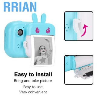 Rrian 2.4 Inch 16g Printer Foto Portabel