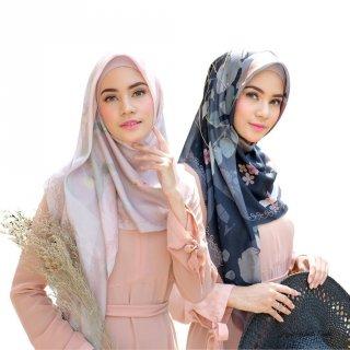 Hijabwanitacantik - Segiempat Jardin Scarf